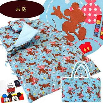 日本直送 米奇/米妮/維尼款兒童用睡袋 幼兒園