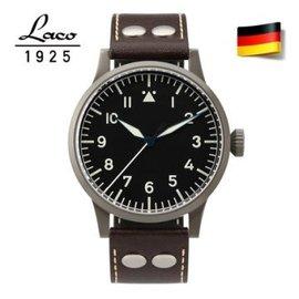 德國  Laco 朗坤 861750 真皮夜光瑞士手動機械機芯男士錶 手動機械機芯 機械錶