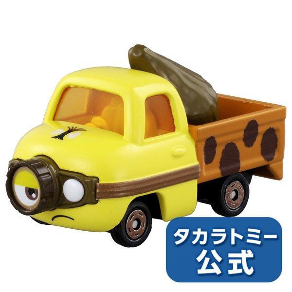 大賀屋 日貨 小小兵 black 貨車 Tomica 多美 小汽車 多美小汽車 合金車 玩具車 正版 L00011181