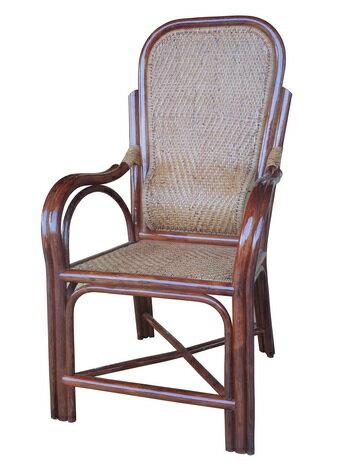 【MSL】精緻單護腰老人藤椅 1