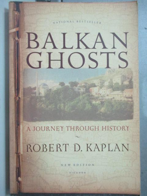 ~書寶 書T6/原文小說_JAE~Balkan ghosts : a journey th