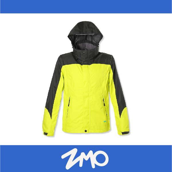 萬特戶外運動 ZMO JG343-LY 男戶外防風雨拆帽外套 透氣 防水 防風 黃色