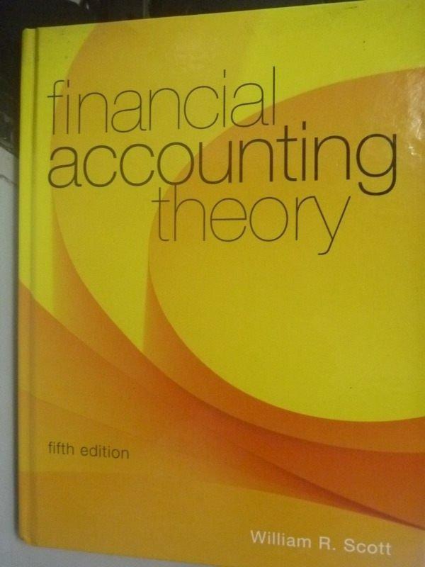 ~書寶 書T8/大學商學_QHP~Financial Accounting Theory_
