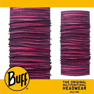 BUFF 西班牙魔術頭巾 經典系列 [粉紅流線] BF113089-538-10