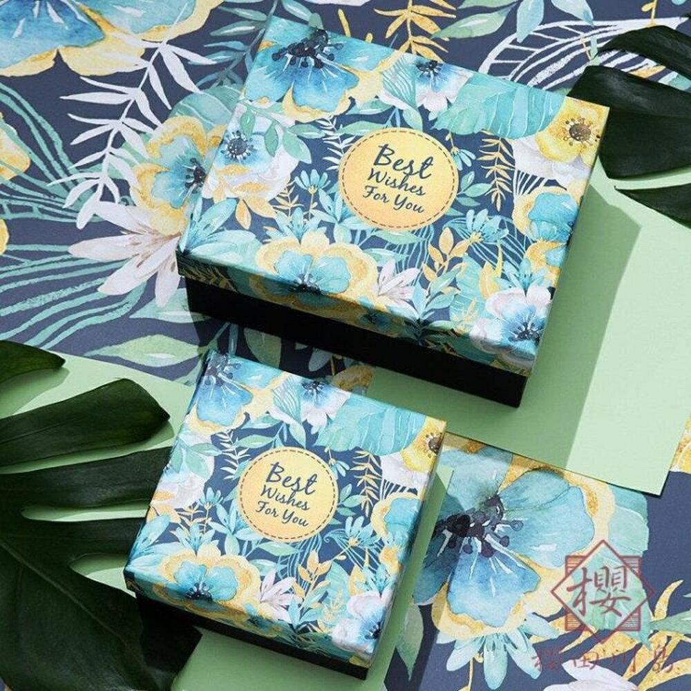 禮品盒禮物包裝盒伴手禮生日禮盒空盒喜糖盒【櫻田川島】