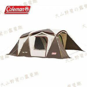 【露營趣】中和安坑 Coleman CM-22112 氣候達人2-ROOM STD 別墅帳 隧道帳 網屋 客廳帳 一房一廳
