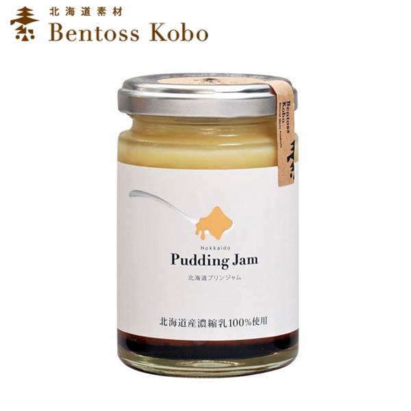 【BENTOSS工房】北海道布丁抹醬 140G ~日本北海道限定特產 純天然素材 無添加~
