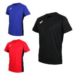 ASICS 男短袖排球練習T恤(免運 短T T恤 亞瑟士【03312771】≡排汗專家≡