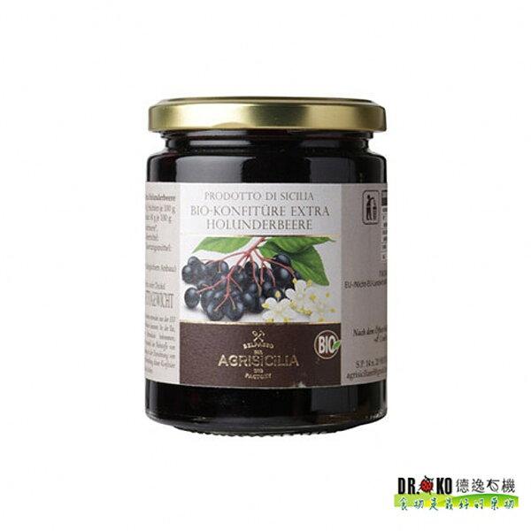 Dr.oko義大利西西里原裝進口有機接骨木果醬360g▶全館滿499免運