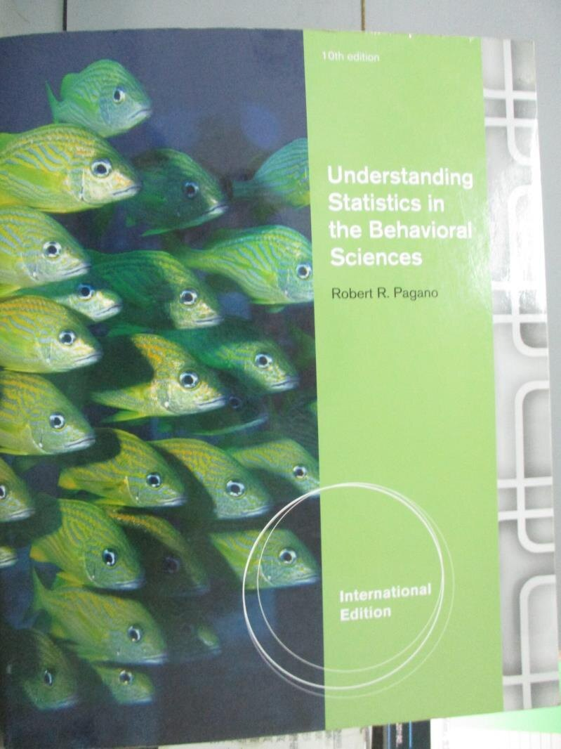 【書寶 書T1/大學商學_ZFD】Understanding Statistics in the Behavioral Sciences_Robert R. Pagano