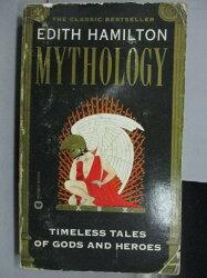 【書寶二手書T7/原文小說_IBU】Edith Hamilton Mythology