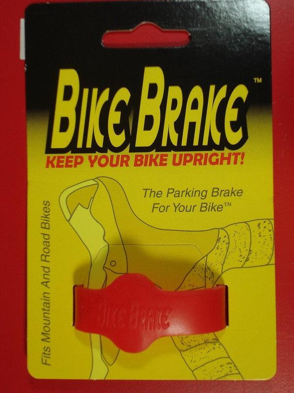 騎跑泳者-自行車停,駐車用剎車帶(BIKE BRAKE)停放時,可防止車子滑動,摔壞了心疼又傷財!紅,黑,黃三種顏色