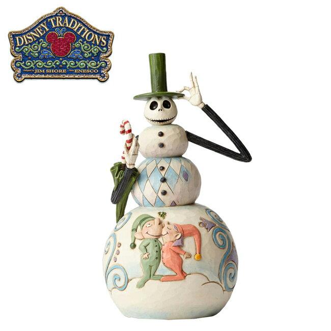 【正版授權】Enesco 聖誕夜驚魂 傑克 雪人 塑像 公仔 精品雕塑 迪士尼 Disney - 848879