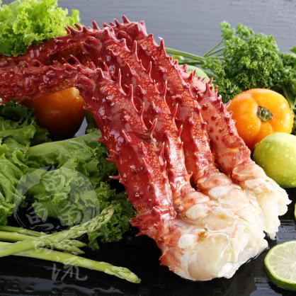 【鮮之流】智利生凍帝王蟹腳, 700g/付