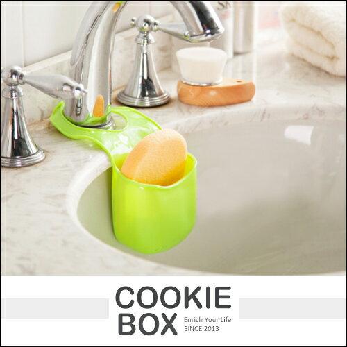 創意 廚房 水槽 置物架 收納架 吊掛式 浴室 衛浴 瀝水 菜瓜布 海綿 置物籃 *餅乾盒子*