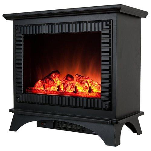 "27"" Electric Fireplace Heat Tempered Glass Freestanding Logs Insert Adjustable 5200 BTU AKFP0031 1"