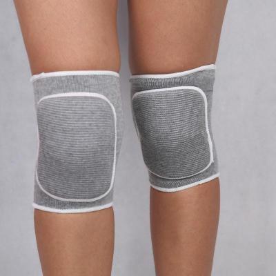 舞蹈護膝 瑜伽護膝蓋墊跪地關節健腹輪護膝女童舞蹈練功包女士打底無痕護腿『SS1013』