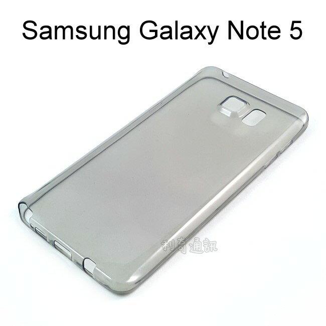 超薄透明軟殼 [透灰] Samsung N9208 Galaxy Note 5