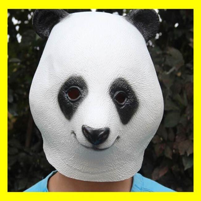派對動物 五月天 頭套 功夫熊貓 圓仔 團團圓圓 面具/眼罩面罩 cosplay 整人 變裝 生日【塔克】