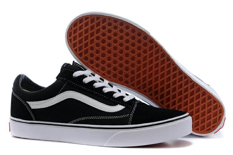 【VANS】Old Skool 基本款  黑 經典款 休閒鞋 男女 專櫃價2380  (palace store) 2