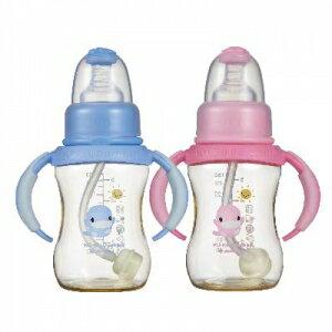 新防脹氣PES 葫蘆成長奶瓶 150ml 兩色