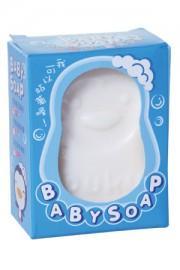 藍色企鵝  嬰兒造型香皂