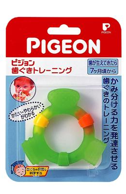 Pigeon貝親 牙齒咬環^(牙齦訓練^)