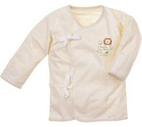 有機棉反袖肚衣^(60cm   70 cm^)