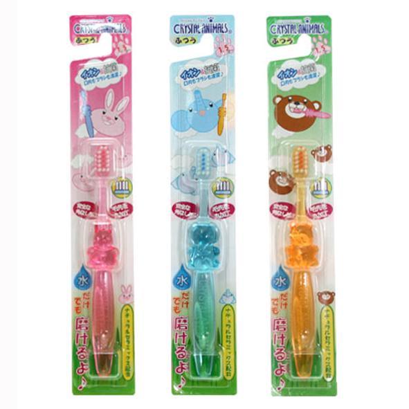 寶貝屋 1.5~6歲水晶幼兒牙刷 共三色