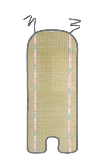 拉孚兒 天然草編涼涼墊 - 三點式A/AB車型及彈跳床適用 兩色