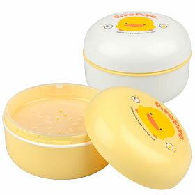 黃色小鴨 痱子粉盒+隔層