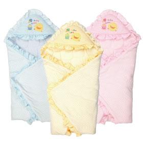 黃色小鴨 橫條 包巾 三色
