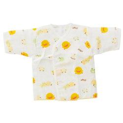 黃色小鴨 印圖紗布肚衣