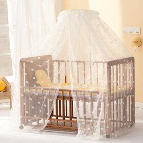 黃色小鴨 全罩式嬰兒床用蚊帳