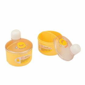 黃色小鴨 初生型雙格奶粉罐