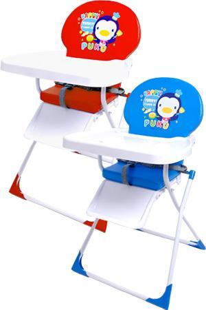 藍色企鵝 高腳餐椅