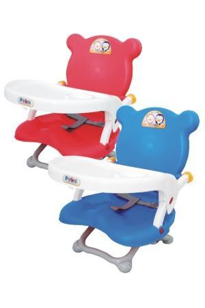 藍色企鵝 可攜式活動餐椅 兩色
