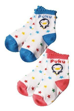 藍色企鵝 短襪