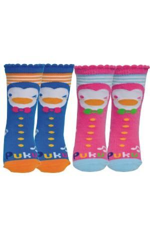 藍色企鵝 小腿襪
