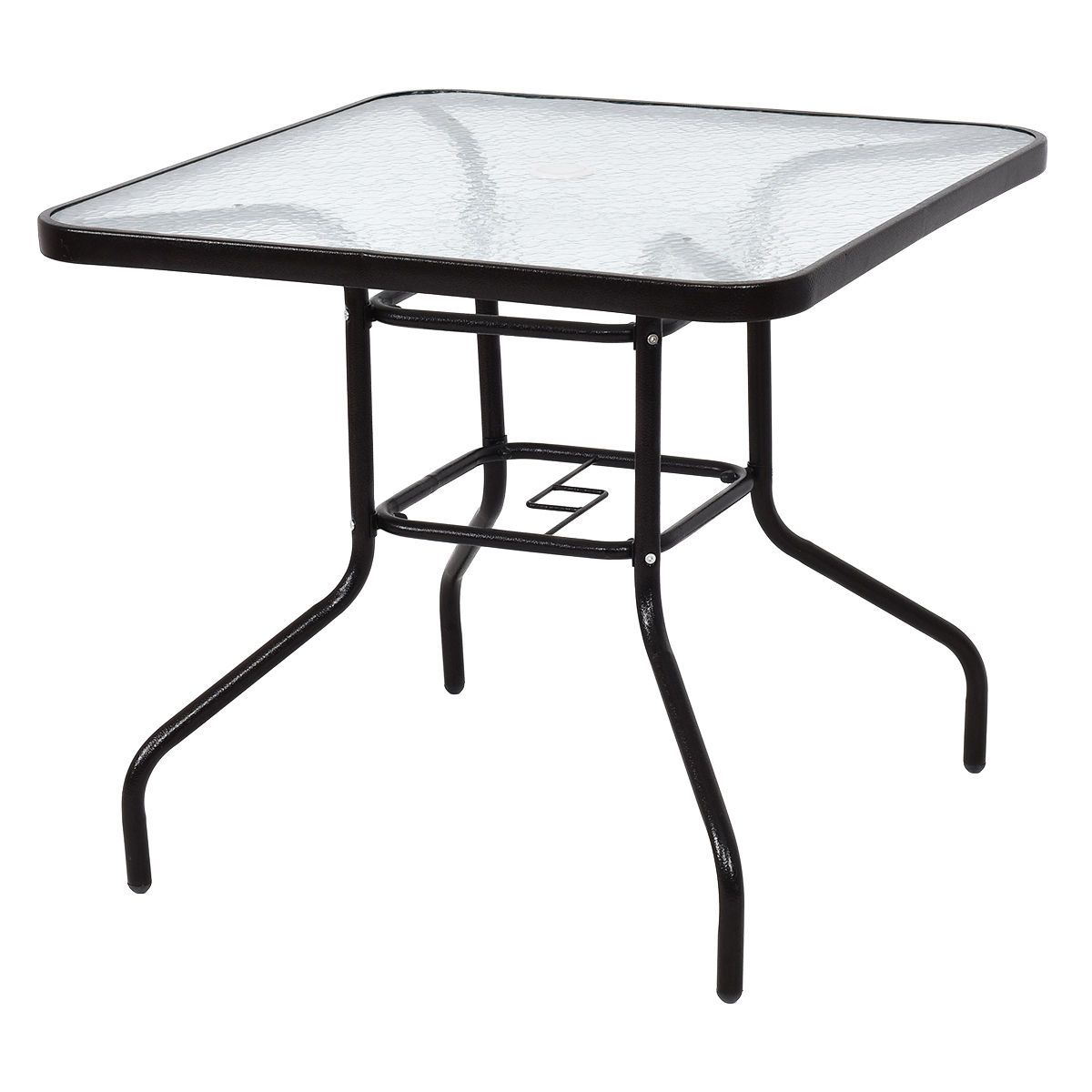 Costway: Costway 31 1/2\'\' Patio Square Table Steel Frame Dining ...