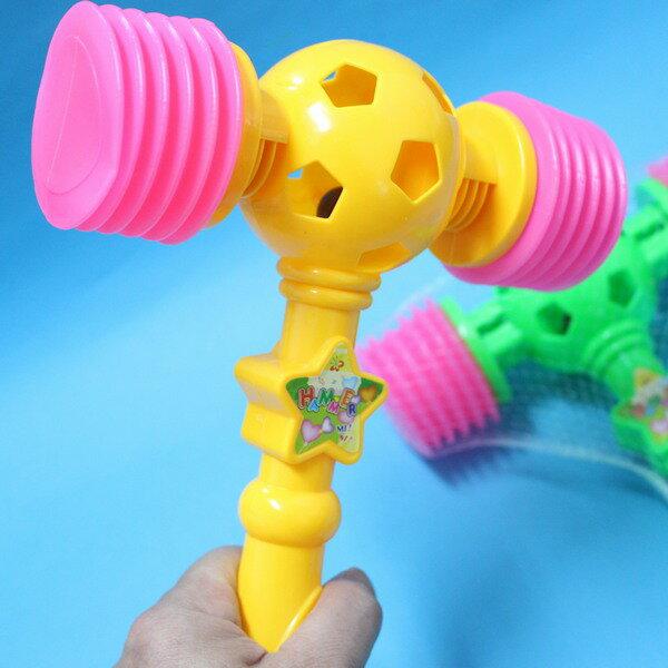 雙頭錘 (中) 氣錘玩具 響捶玩具/一支入{定40} 空氣槌子響聲 氣槌 槌錘子榔頭 安全整人響鎚~CF72171