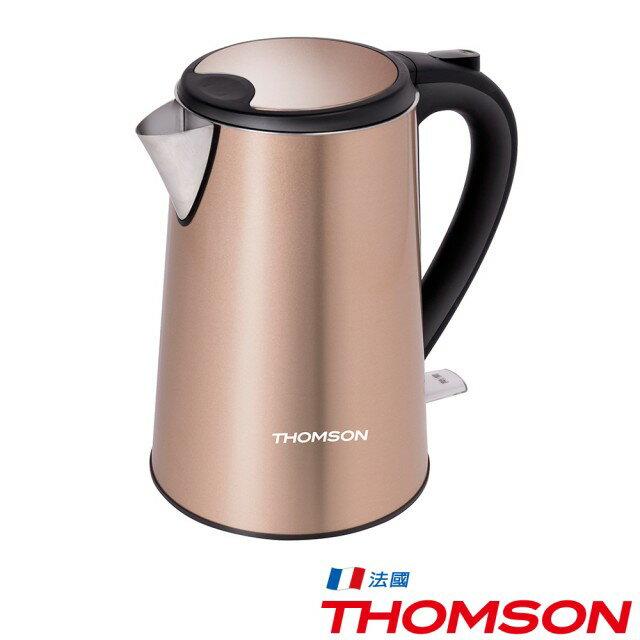 THOMSON 湯姆盛 TM-SAK13 雙層不鏽鋼快煮壺1.5L