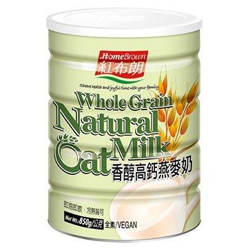 紅布朗香醇高鈣燕麥奶(850g罐)*6