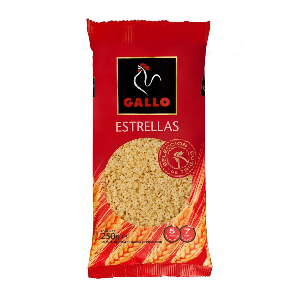 ★滿555領券現折55【Gallo】西班牙公雞星星造型義大利麵 250g (一入)