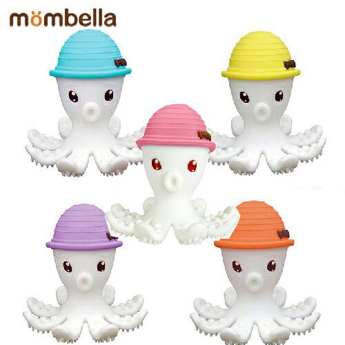 【mombella】樂咬咬章魚固齒器-盒蓋裝(5色) 0