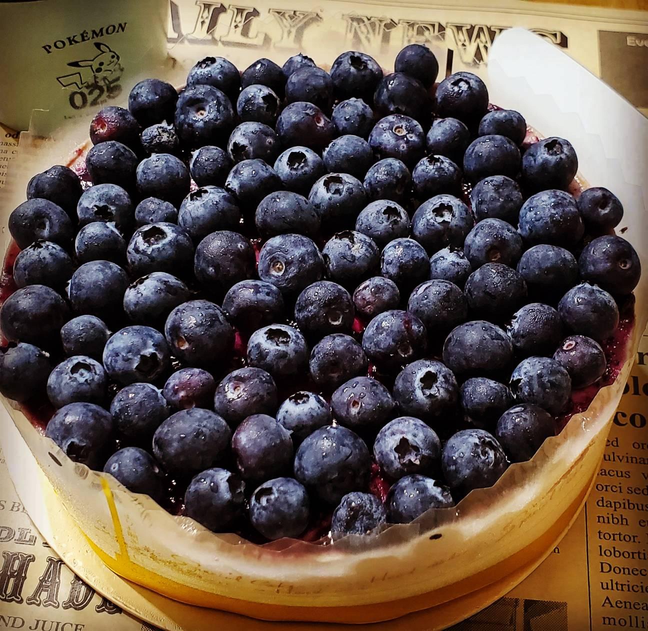 [糕中生2年3班] 6吋藍莓重乳酪 芝士蛋糕 甜點 下午茶 點心 蛋糕