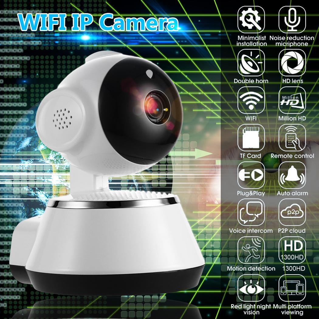 Wireless WiFi Monitor Alarm Home Security IP Camera HD 960P Night Vision