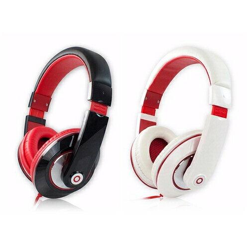 aibo高音質立體聲耳機(扁線)頭戴式重低音耳機全罩式耳機耳罩式耳機語音通話線控耳機