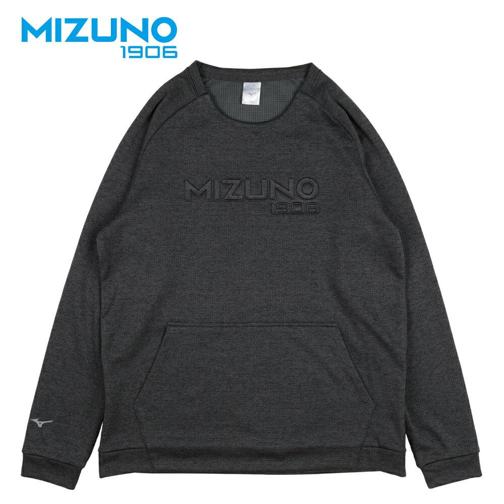 MIZUNO 1906 男款休閒長袖T恤 D2TA850309 (黑) 【美津濃MIZUNO】 - 限時優惠好康折扣