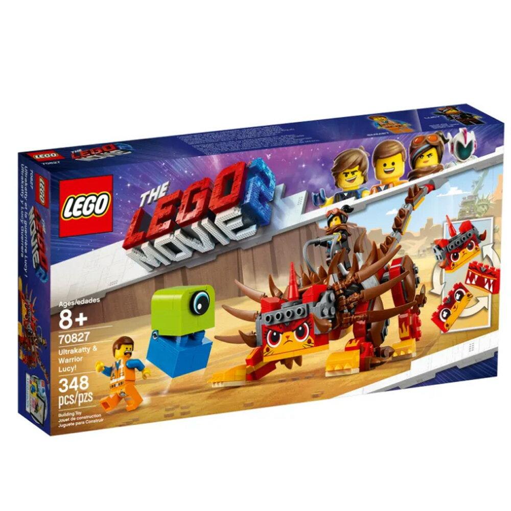 LEGO 樂高 THE LEGO MOVIE 2™ 玩電影系列 Ultrakatty & Warrior Lucy! 70827